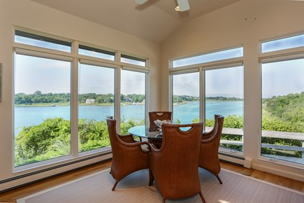Orleans Cape Cod vacation rental - Nook with amazing views off kitchen
