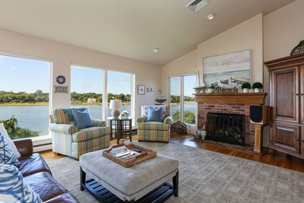 Orleans Cape Cod vacation rental - Great Room with Views and TV