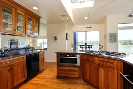 Orleans Cape Cod vacation rental - Gourmet Kitchen looks out at the views