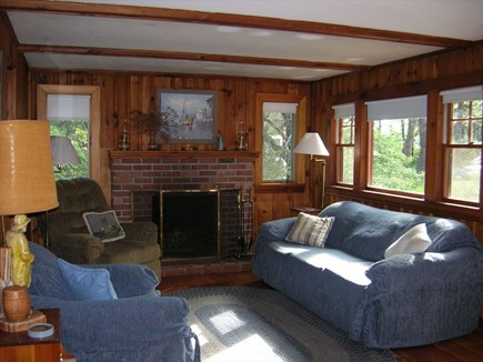 Wellfleet Cape Cod vacation rental - Comfortable living room