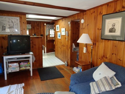 Wellfleet Cape Cod vacation rental - Living Room/TV/DVD