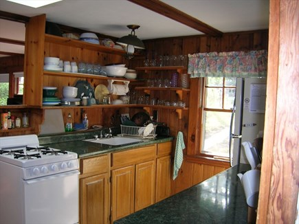 Wellfleet Cape Cod vacation rental - Cozy kitchen