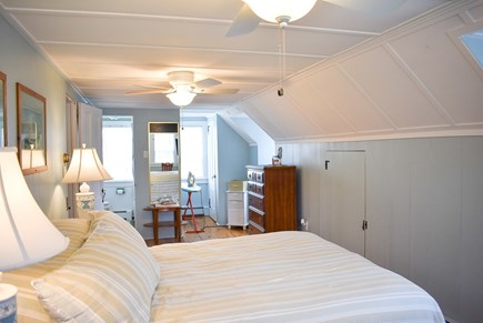 West Dennis Cape Cod vacation rental - Master Bedroom to Bath with Ocean view