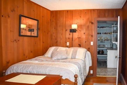 West Dennis Cape Cod vacation rental - Frist floor Bedroom off Pantry with Bath