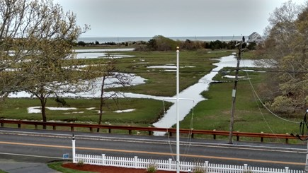 West Dennis Cape Cod vacation rental - View from Master Bedroom to Ocean