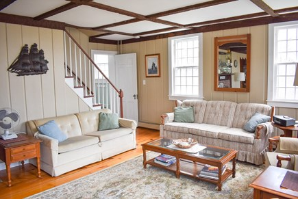 West Dennis Cape Cod vacation rental - Living Room sitting area