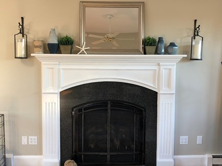 West Barnstable Cape Cod vacation rental - Gas Fireplace.  On and Off with a click!