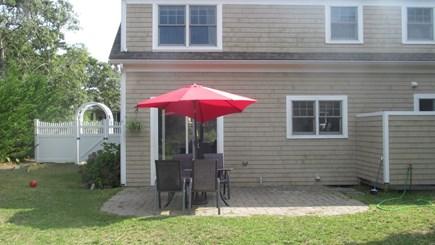 Chatham (Ridgevale) Cape Cod vacation rental - The back patio