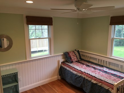 Chatham (Ridgevale) Cape Cod vacation rental - First floor bedroom with twin daybed and trundle beneath.