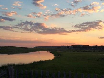 Chatham (Ridgevale) Cape Cod vacation rental - Ridgevale at sunset - a half-mile beautiful walk away.