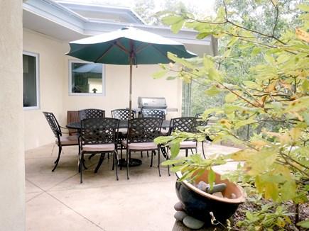 Wellfleet Cape Cod vacation rental - Kitchen patio