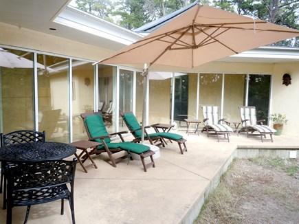 Wellfleet Cape Cod vacation rental - Lounge patio
