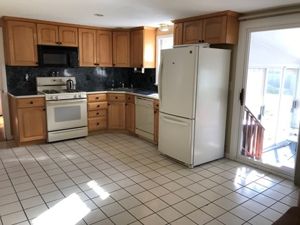 Yarmouth Port Cape Cod vacation rental - Recently renovated kitchen with direct access to 3 season patio