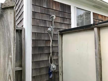 Yarmouth Port Cape Cod vacation rental - Outdoor shower