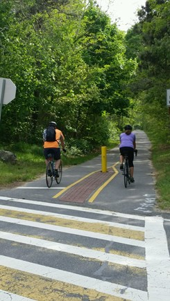 Brewster Cape Cod vacation rental - Cape Cod Rail Trail Bike Path