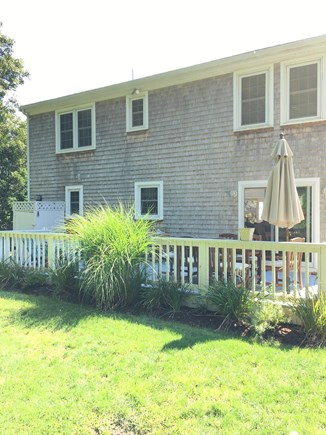 Mashpee, Popponesset Cape Cod vacation rental - Back of the house and large deck