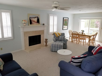 Mashpee, Popponesset Cape Cod vacation rental - Sunny and bright living room with a cable TV