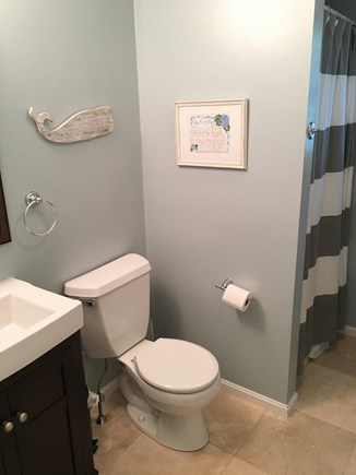 Mashpee, Popponesset Cape Cod vacation rental - Bath with stand up shower - 1st floor
