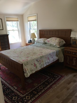 North Eastham Cape Cod vacation rental - Master Bedroom facing marsh and bay