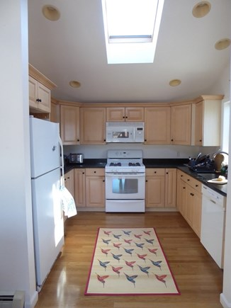 North Eastham Cape Cod vacation rental - Kitchen, opening from living room.