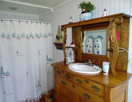 West Yarmouth Cape Cod vacation rental - Canopy bedroom private bath