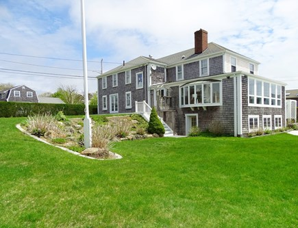 West Yarmouth Cape Cod vacation rental - Large back yard, great for games and viewing boats