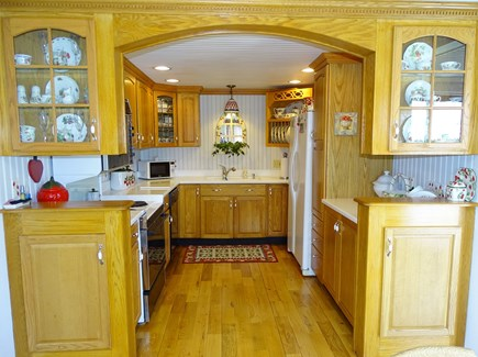 West Yarmouth Cape Cod vacation rental - Kitchen area with breakfast nook
