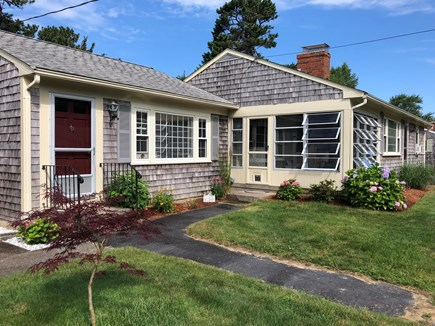 West Yarmouth Cape Cod vacation rental - Sun room entrance