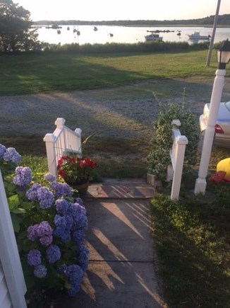 Marion MA vacation rental - View from the front door
