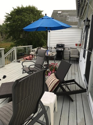 Marion MA vacation rental - Deck and Yard