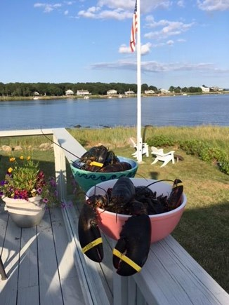 Marion MA vacation rental - Lobsters on the Deck