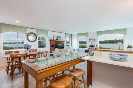 Marion MA vacation rental - Bar and dining table