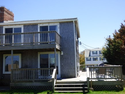 Dennis Cape Cod vacation rental - Back of Duplex, right side