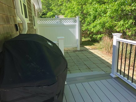 Dennis Cape Cod vacation rental - Outdoor shower and grill