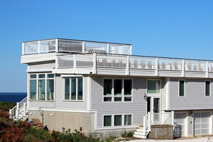 Truro Cape Cod vacation rental - Deluxe Ocean Bluff Home
