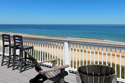 Truro Cape Cod vacation rental - Roof Deck With Seating