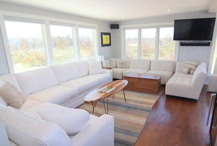 Truro Cape Cod vacation rental - Living Area With Ocean View