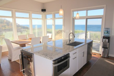 Truro Cape Cod vacation rental - Open Living Space With Expansive Ocean & Dune Views