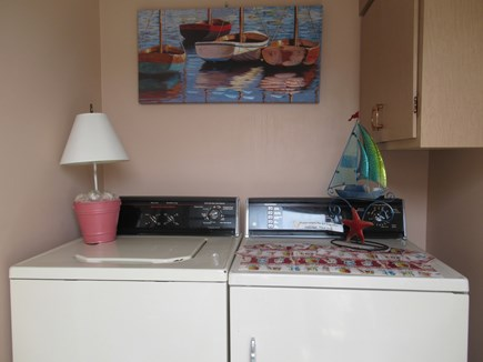 Hyannis Cape Cod vacation rental - Laundry room at back entrance