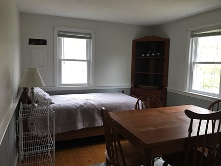 W Yarmouth Cape Cod vacation rental - Kitchen table with extra twin bed