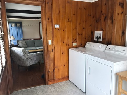 W Yarmouth Cape Cod vacation rental - Laundry/ entry room