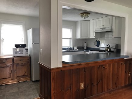 W Yarmouth Cape Cod vacation rental - View from the living room to the kitchen
