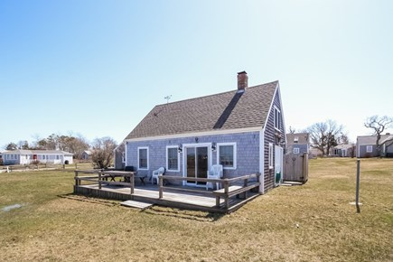 Barnstable, Cummaquid Cape Cod vacation rental - Front View with Deck