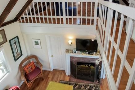 Barnstable, Cummaquid Cape Cod vacation rental - Looking Down From Loft