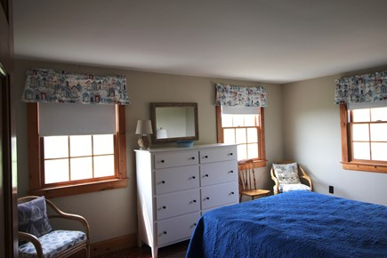 Truro Cape Cod vacation rental - Main Bedroom Overlooks Bay