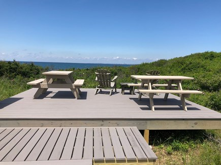 Truro Cape Cod vacation rental - Fabulous Deck with Bay and Sunset Views