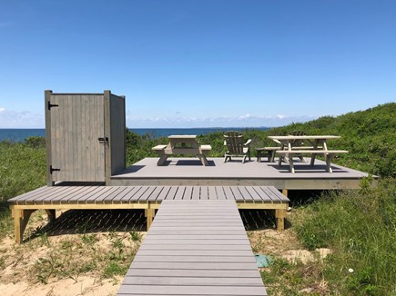 Truro Cape Cod vacation rental - Enclosed Outdoor Shower