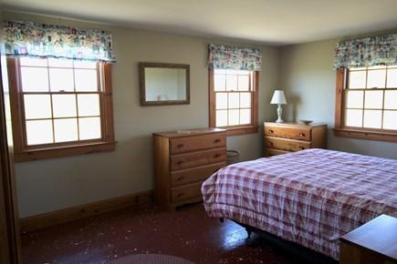 Truro Cape Cod vacation rental - Bedroom Facing Bay with Queen Bed
