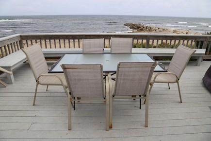 Sandwich Cape Cod vacation rental - Deck off the Breezeway.