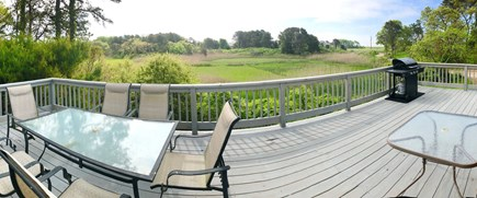 Chatham (Ridgevale Beach area) Cape Cod vacation rental - View from deck: across conservation land